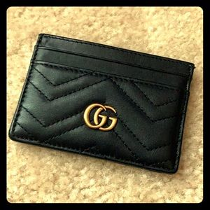 Gucci Mormont Quilted Card Holder